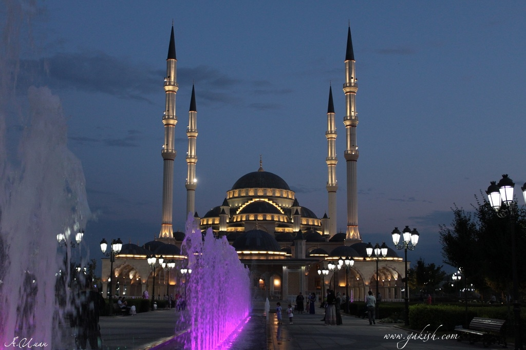 Chechnya photo mosque Чечня Сердце Чечни фото Чечня сегодня