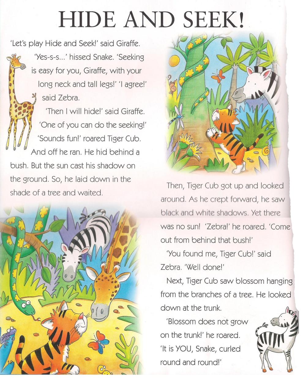 английский язык детям, рассказы на английском языке для детей