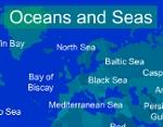 Geography games ocheans and sea