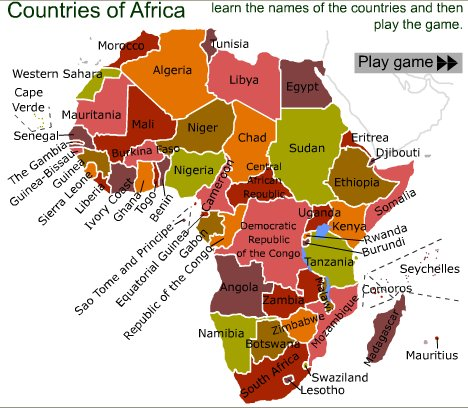 games of africa