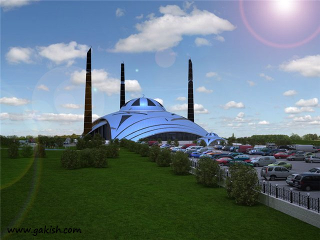 Проект мечети Аргун Чечня постройки в чечне