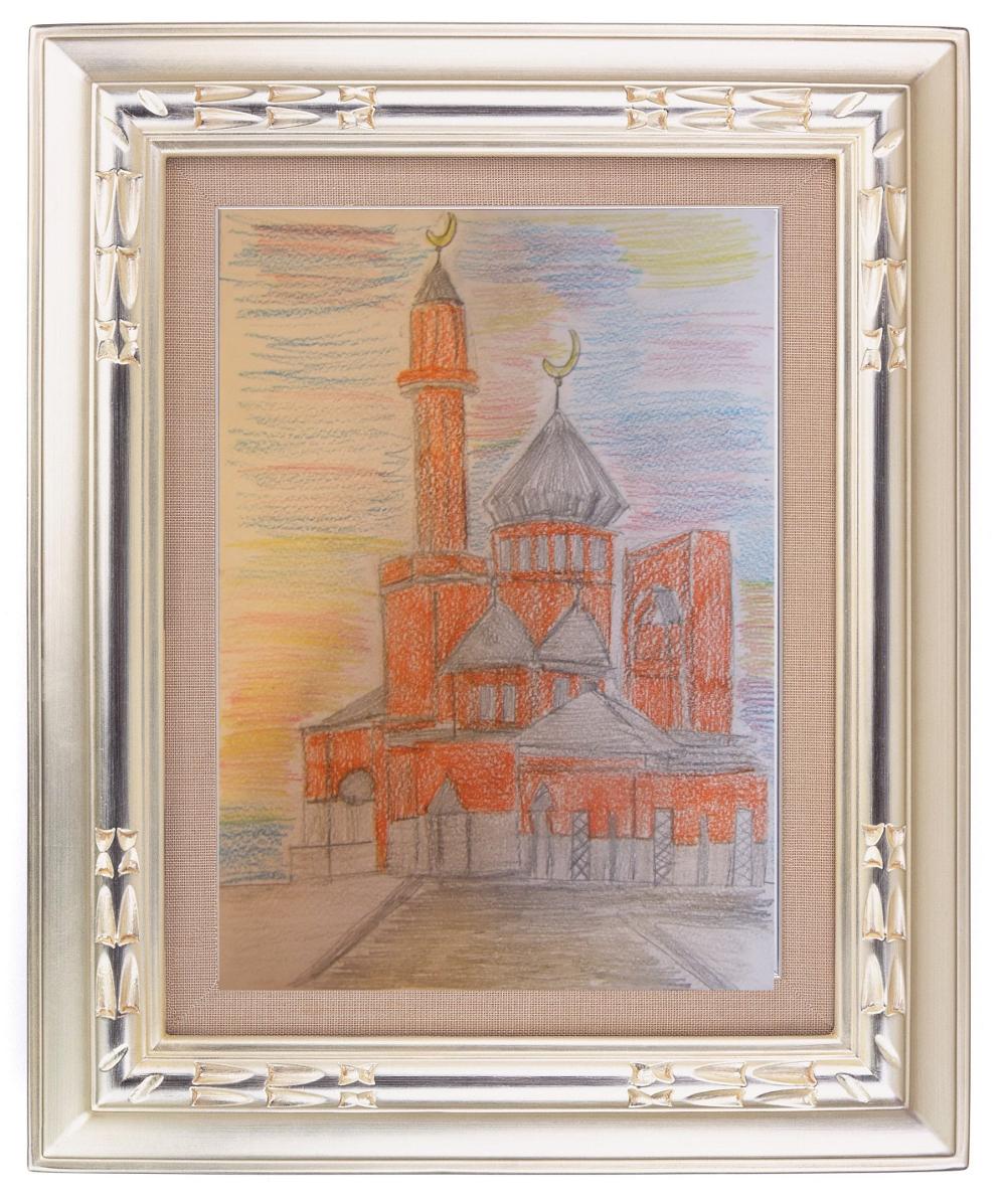 рисунок мечеть