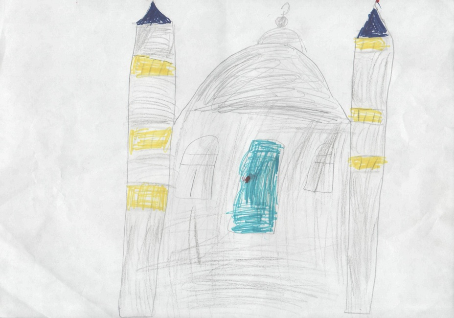 конкурс рисунков мечети