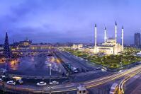 Чечня фотографии мечеть Грозный