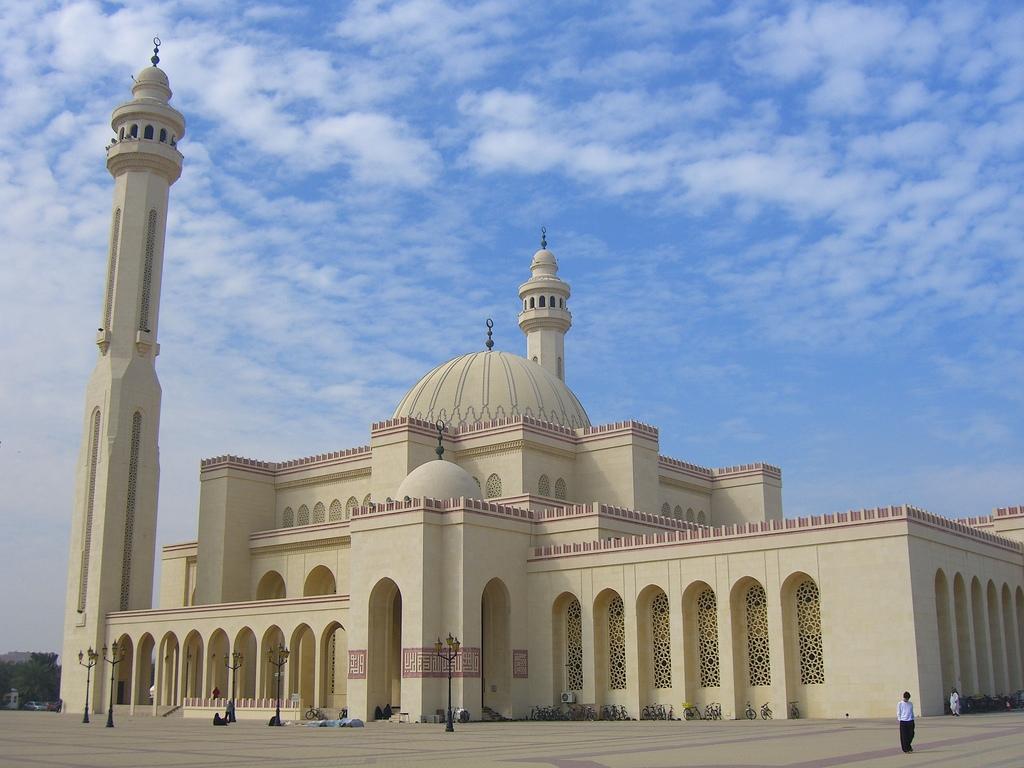 Мечеть Аль-Фатех в Манаме, Бахрейн.