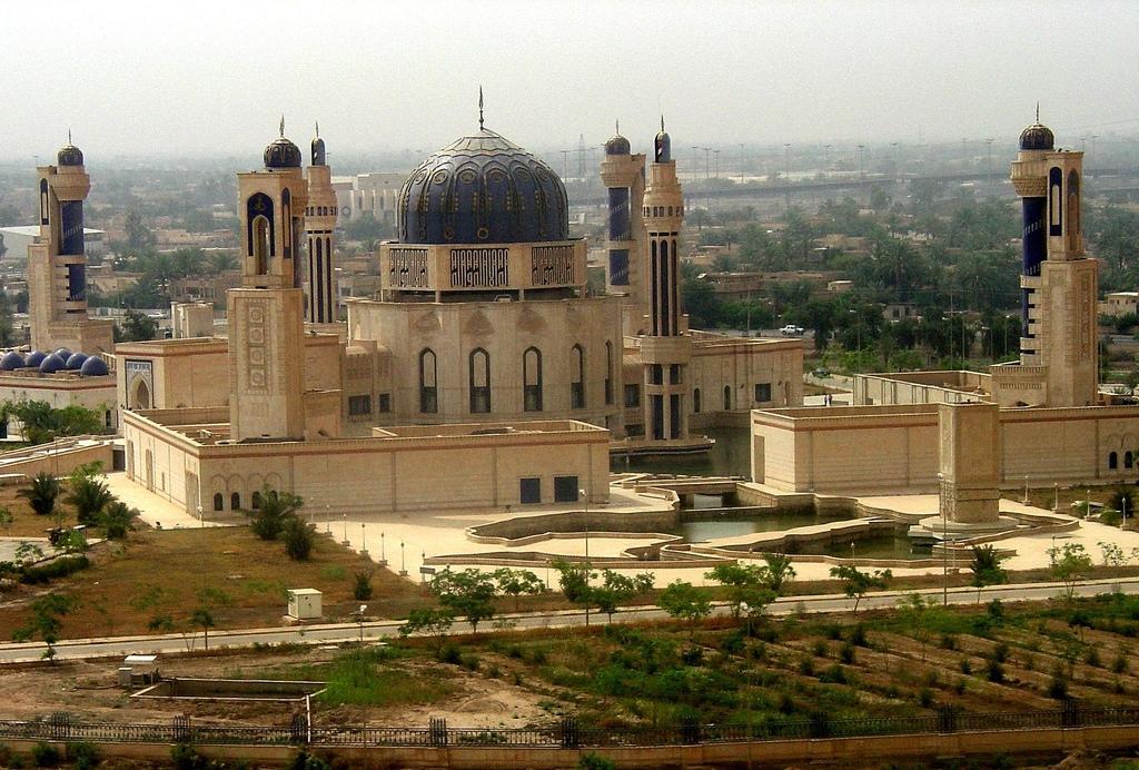 Мечеть в Багдаде - Ирак.