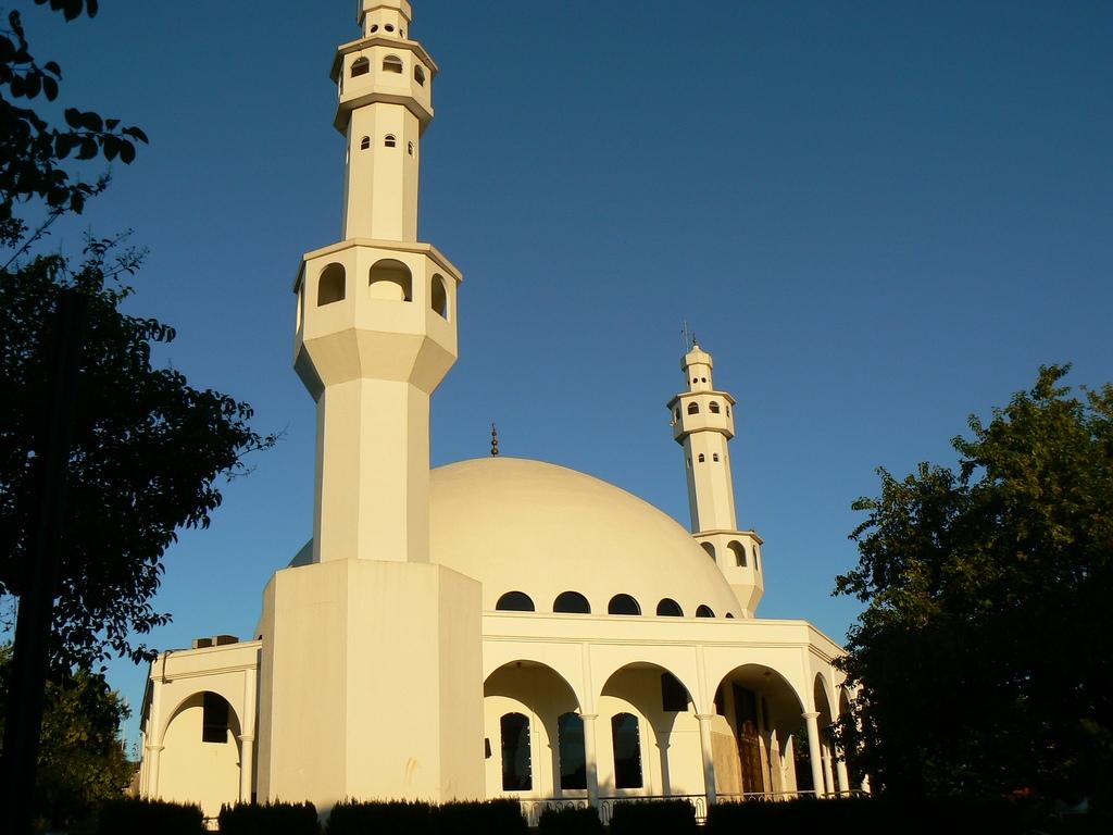 ММечеть в Бразилии.
