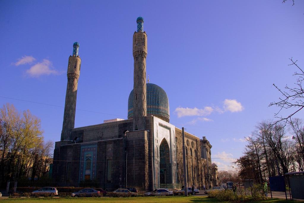 Мечеть в Санкт-Петербурге, Россия.