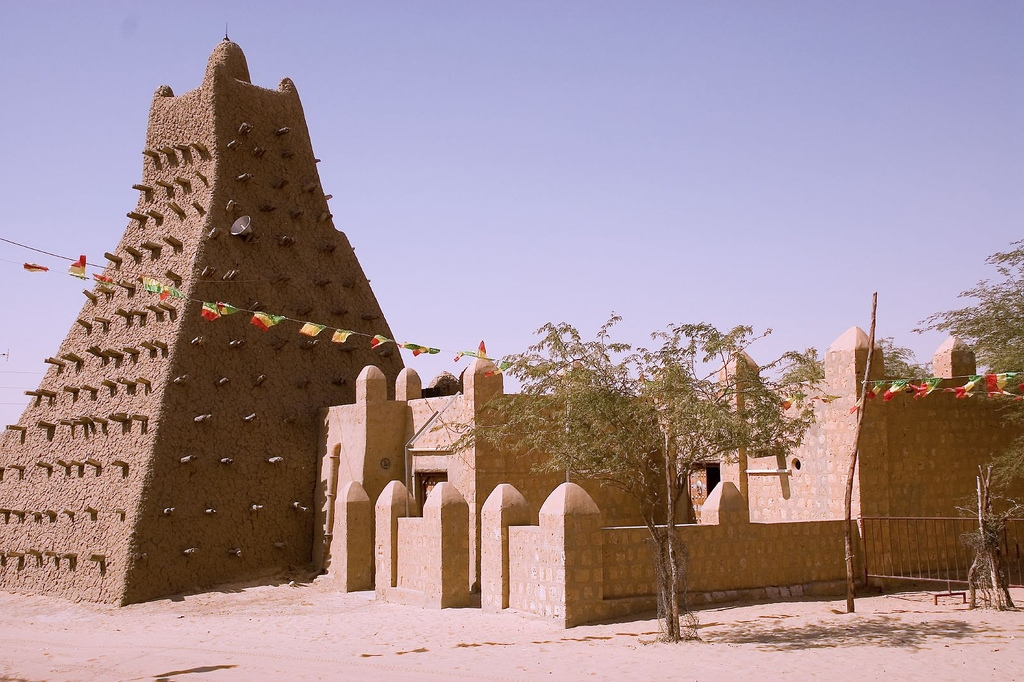 Мечеть Санкоре, в Тимбукту, Мали.