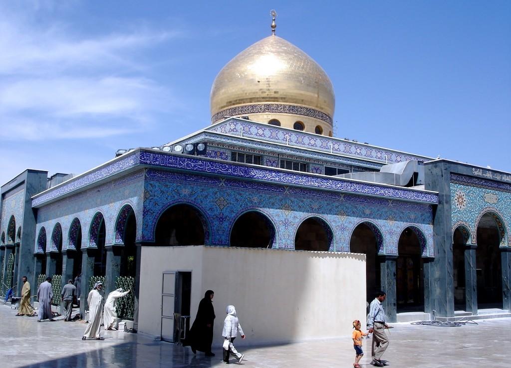Мечеть Сайида Зейнаб в Дамаске - Сирия.