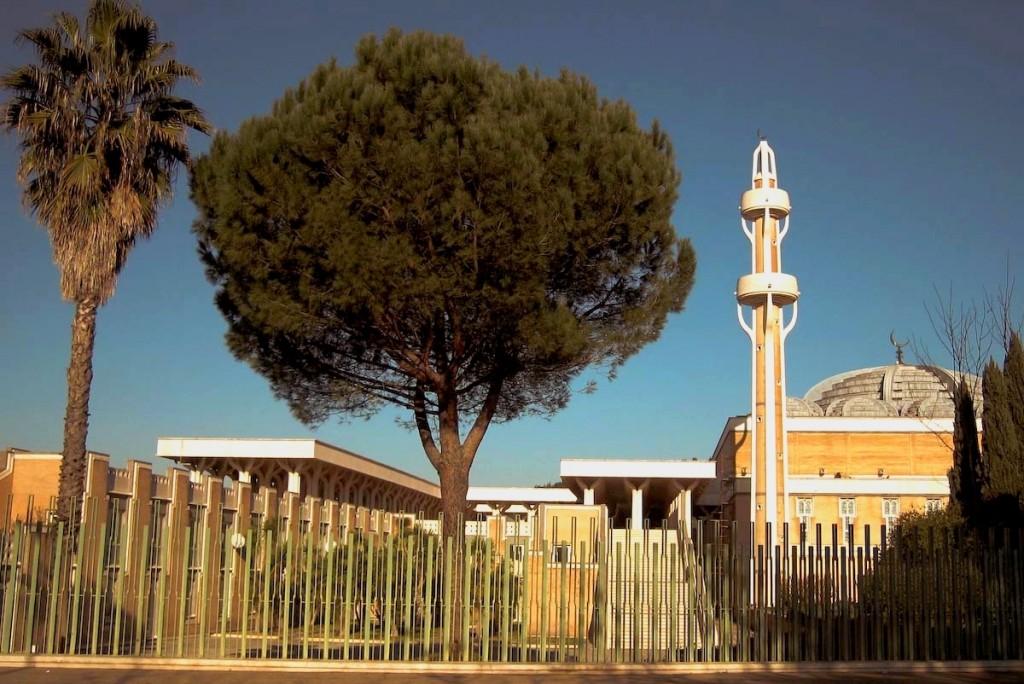 Римская мечеть в Италии. фото мечетей, фотографии мечетей, мечети мира, красивые мечети