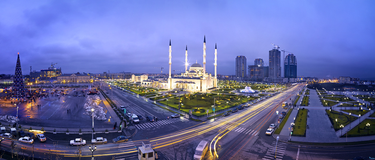Chechnya foto Grozny city