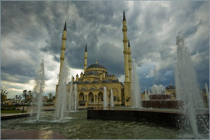Мечеть Грозный 2011