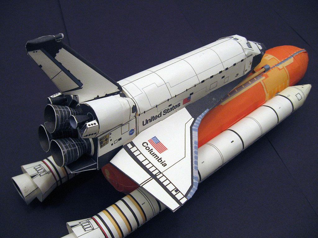 Сделать модель ракеты своими руками