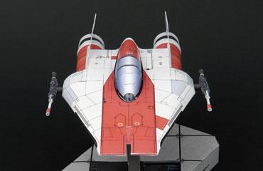 Поделки из бумаги ракета, космический корабль