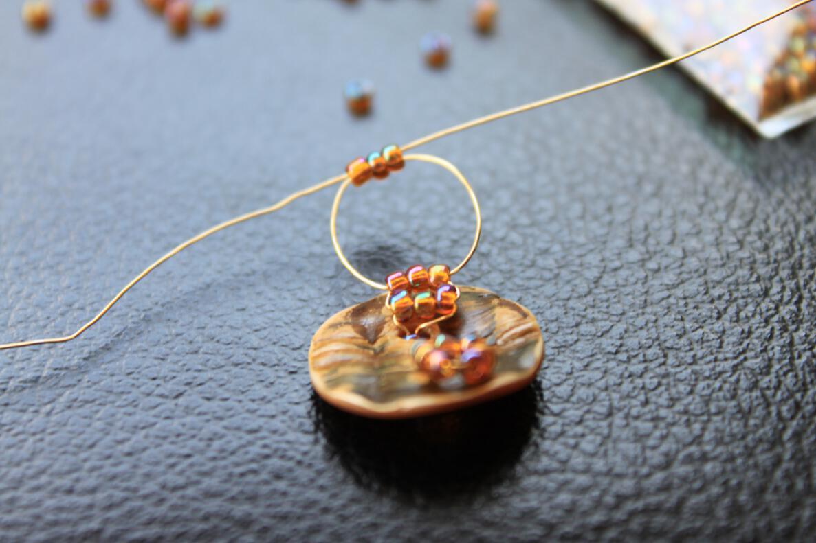 Поделки из бисера кольцо из бисера для девочек подробный пошаговый урок бисероплетения
