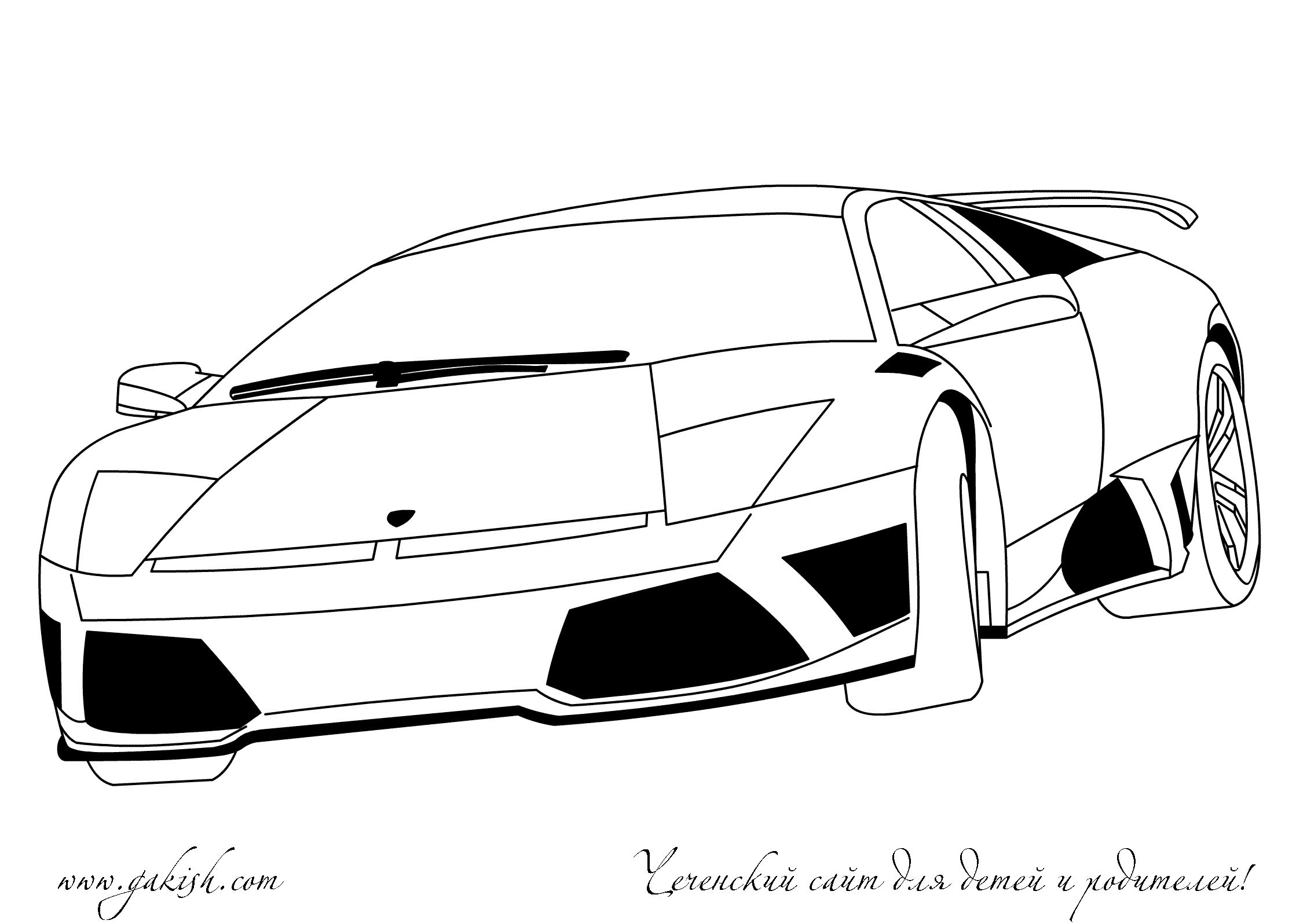 Lambo free colouring pages for Lambo coloring pages