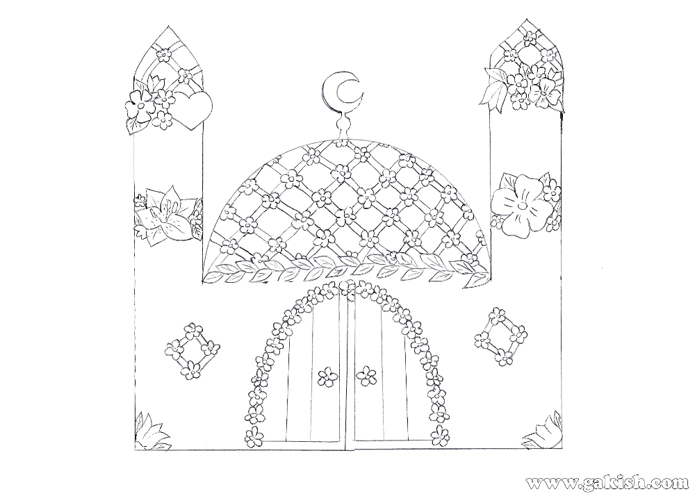 Muslim Girl Coloring Pages Super Duper Coloring