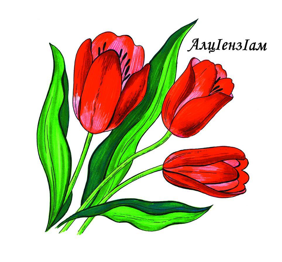 Скачать раскраски цветов — раскраска