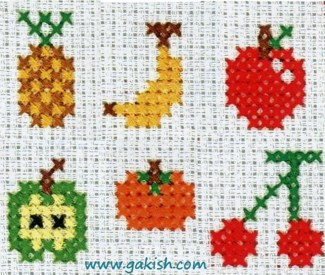 Маленькие схемки вышивки крестиком детские - Cхемы и описания на каждый день.