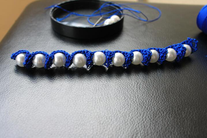 вязание крючком пошаговый урок вязания браслета для детей