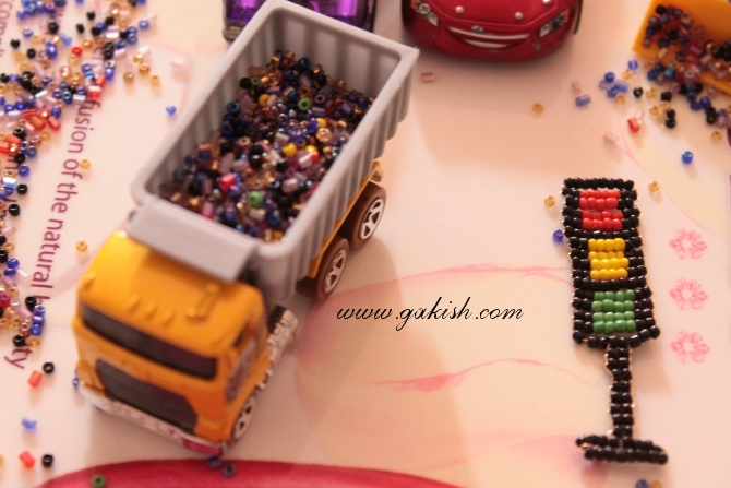 игрушки из бисера схема плетения.