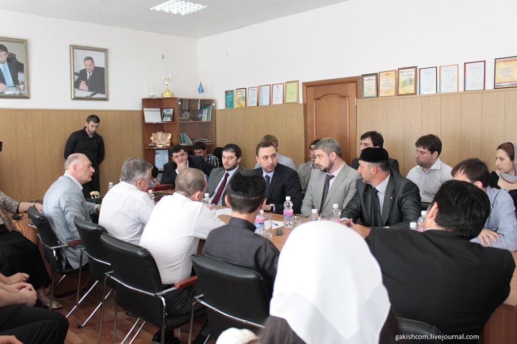 Чечня встреча блогеров 2011 Грозный фото