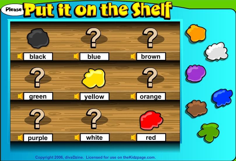 английский дя детей онлайн игры
