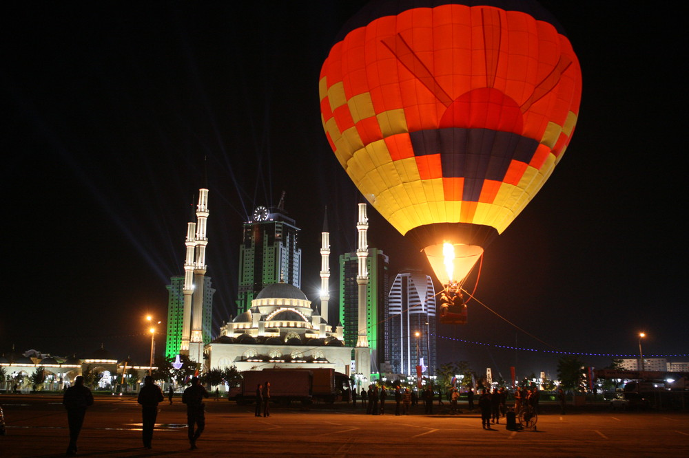 Чечня Грозный Сити фото день города 2011