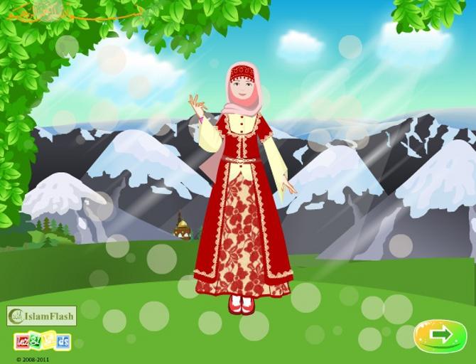 Мусульманская игра онлайн для девочек, онлайн игра мусульманская одежда