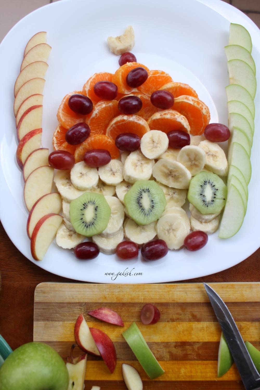 Фрукты нарезка делаем вместе  с детьми crafts with kids нарезка фруктов для праздничного стола нарезка фруктов фото