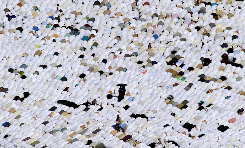 Мусульманский праздник жертвоприношения Аль-Адха Хадж 2011