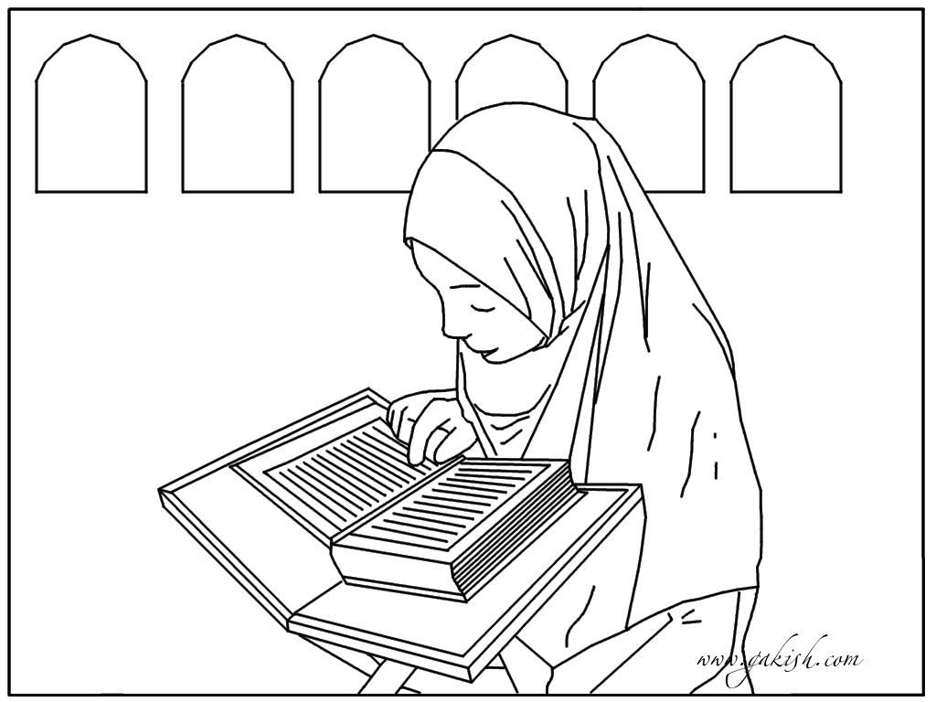 мусульманские раскраски для детей, исламские раскраски для детей