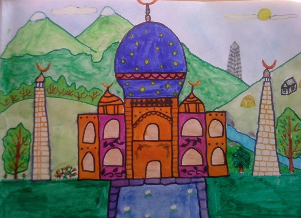 mosque, kids