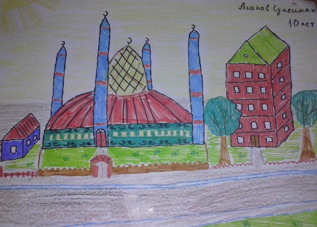 Астрахань картинки города нарисовать